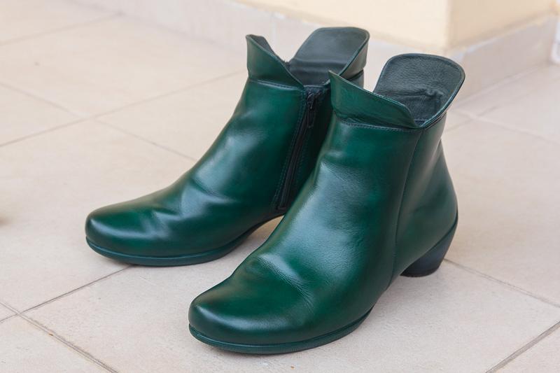 Zmiana koloru butów